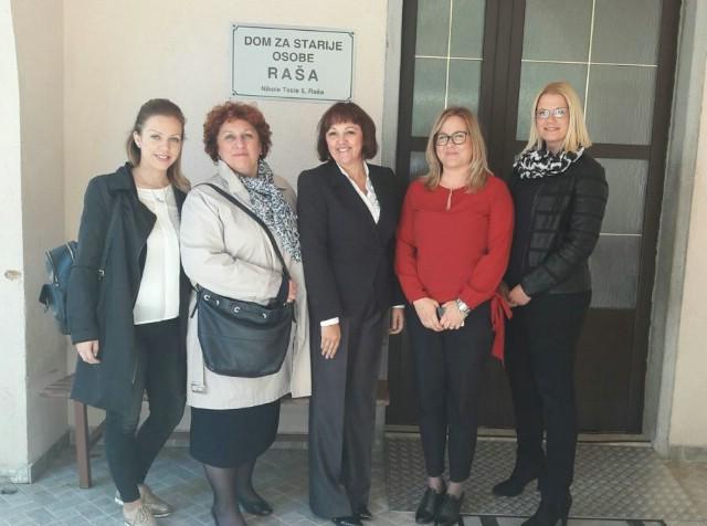 Dožupanica u Raši o obnovi škole i doma umirovljenika