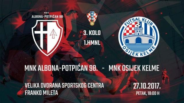 Danas Albona-Potpićan 98. igra prvu službenu utakmicu u novom Sportskom centru Franko Mileta