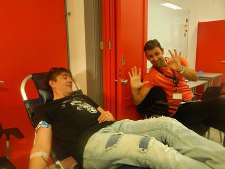 Na odžanim akcijama dobrovoljnog darivanja krvi u Labinu i Koromačnu prikupljene 72 doze krvi