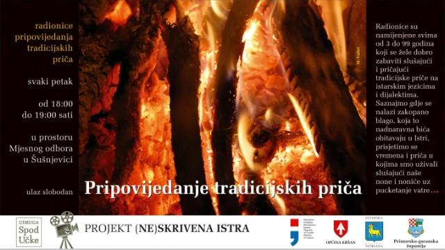 Udruga Spod Učke organizira program pripovijedanja tradicijskih priča