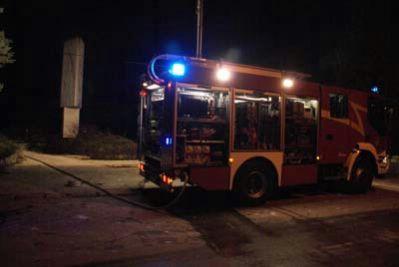 U Kršanu izgorjela obiteljska kuća