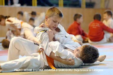 18. međunarodni Judo kup - Samobor 2009: bronce za Labinjane Živića i Agušaja