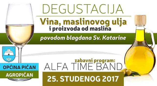 Sv. Katarina - Degustacija vina, maslinovog ulja i dr. proizvoda 25. 11. 2017.