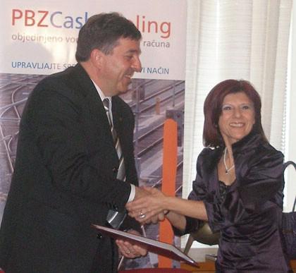 Grad Labin: Potpisan Ugovor o Cash poolingu sa PBZ-om