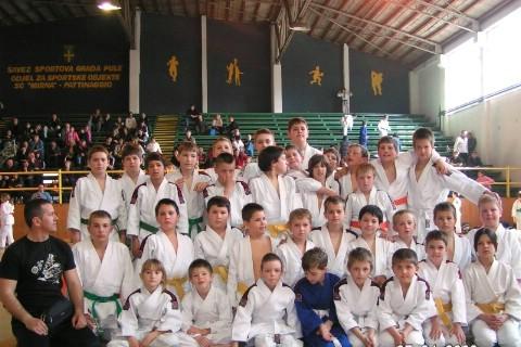 Međužupanijski judo turnir IPPON 2009. - Labinjani sa osam odličja šesti