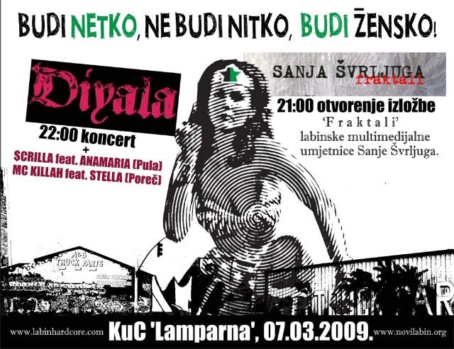 Novi Labin: Dan žena / Koncert & izložba @ KuC Lamparna