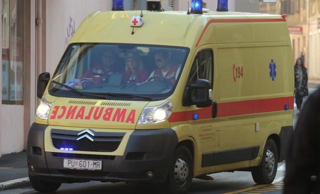 Trget: Nesreća na radu