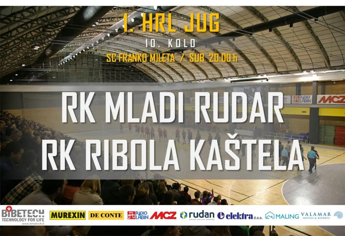 U posljednjem kolu jesenskog dijela prvenstva 1. HRL Jug u kodte Kovarima dolazi RK Ribola Kaštela