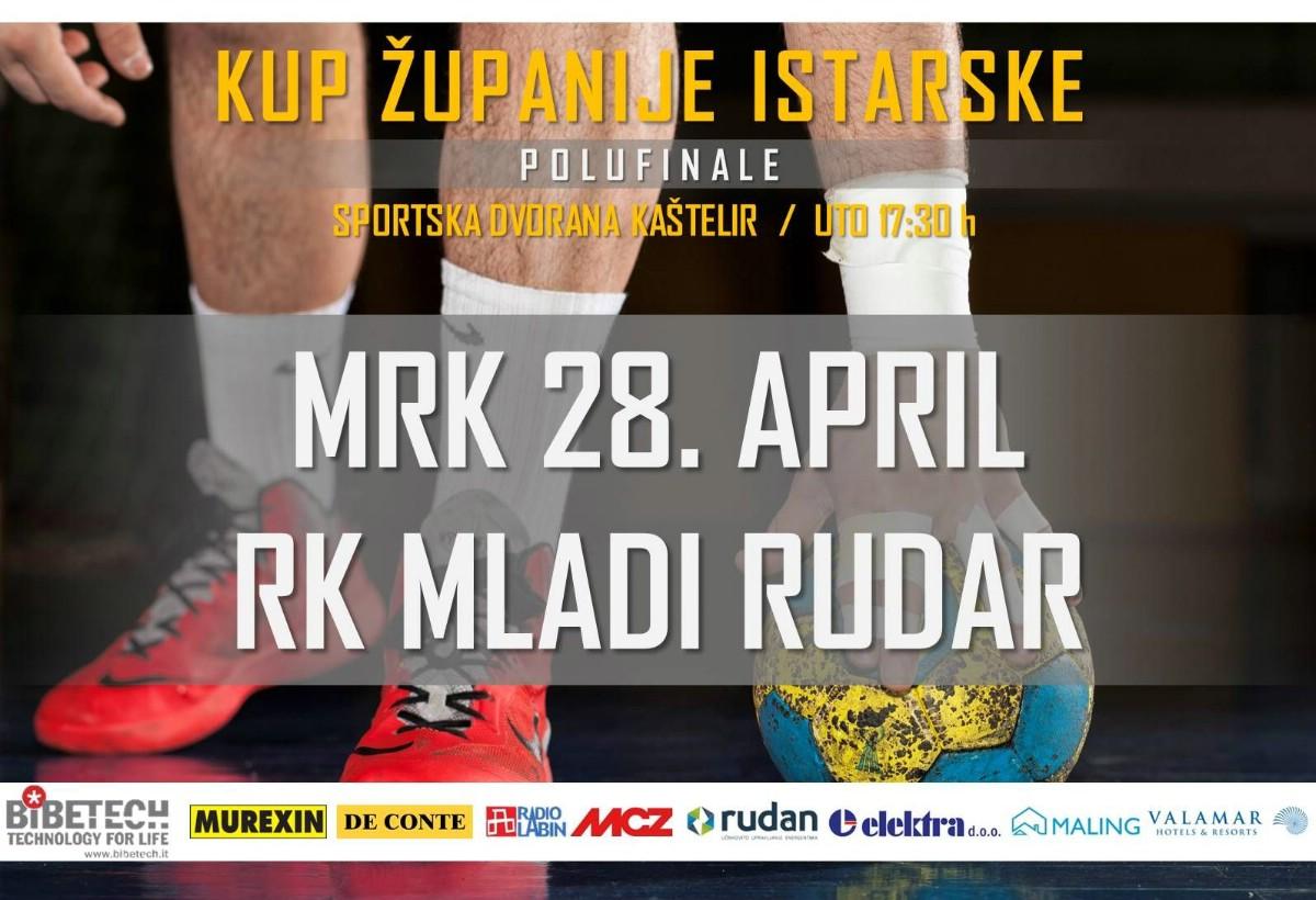 [KUP ŽUPANIJE ISTARSKE] Danas s početkom u 17:30 sati kovari igraju kup utakmicu protiv MRK 28. Aprila iz Kaštelira