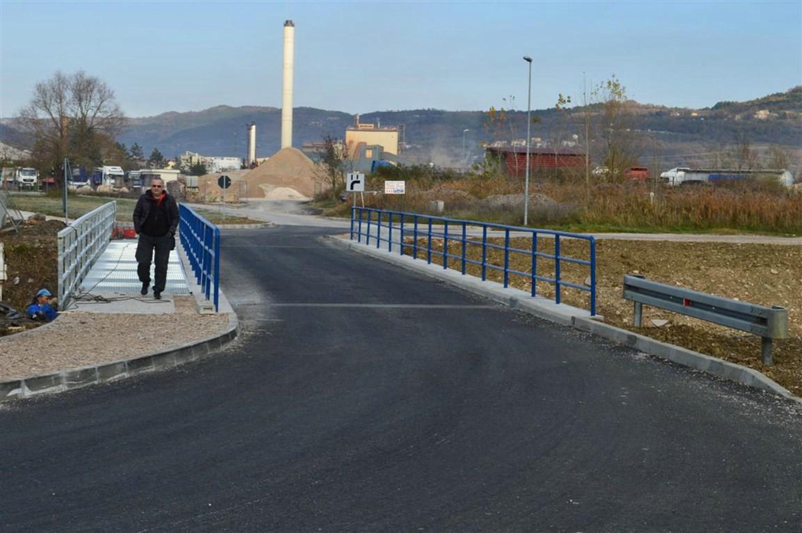 Svečano otvoren obnovljeni most preko rijeke Raše u Potpićnu