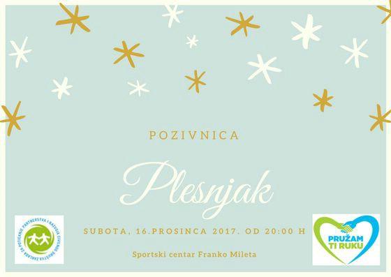 Plesna večer u sklopu projekta `Nonići surfaju` u subotu 16. 12. u SC Franko Mileta