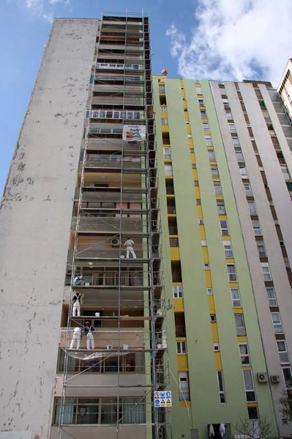 Trgovačko društvo iz Labina postavlja izolaciju na najvišoj zgradi u Puli