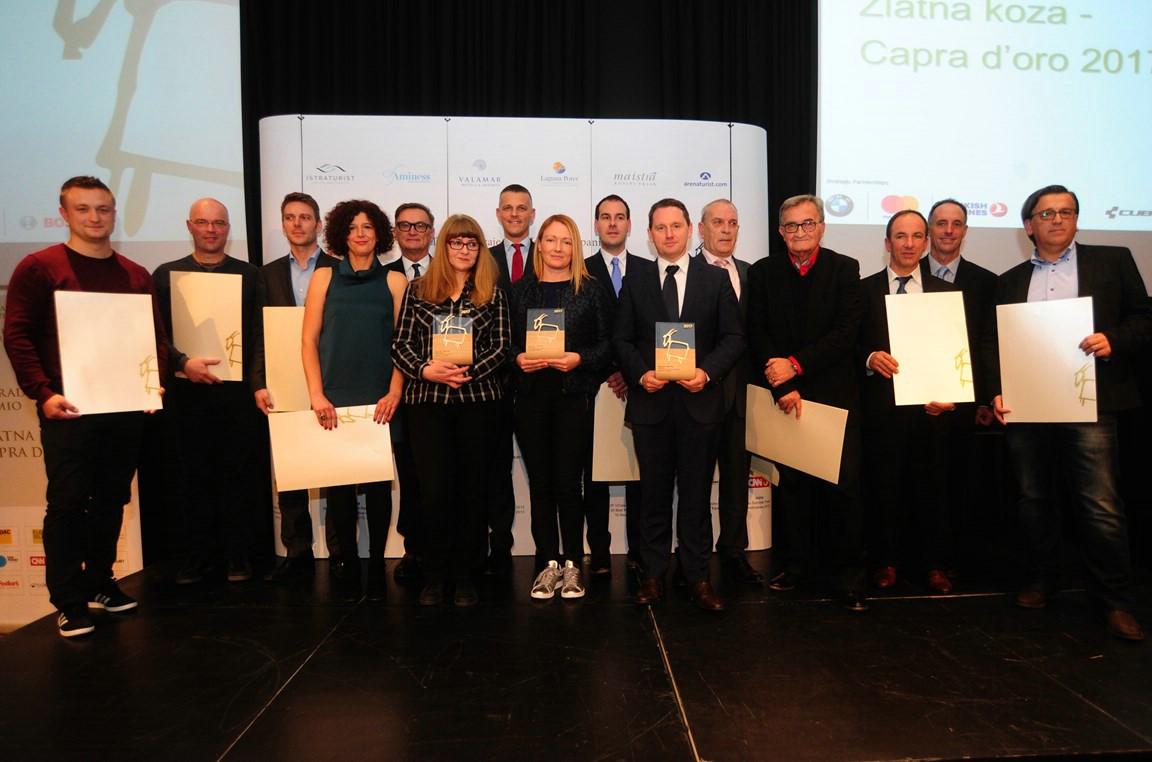 Nagrada Zlatna koza tvrtki Level 52 iz Rapca, posebna zahvala Ediju Černjulu
