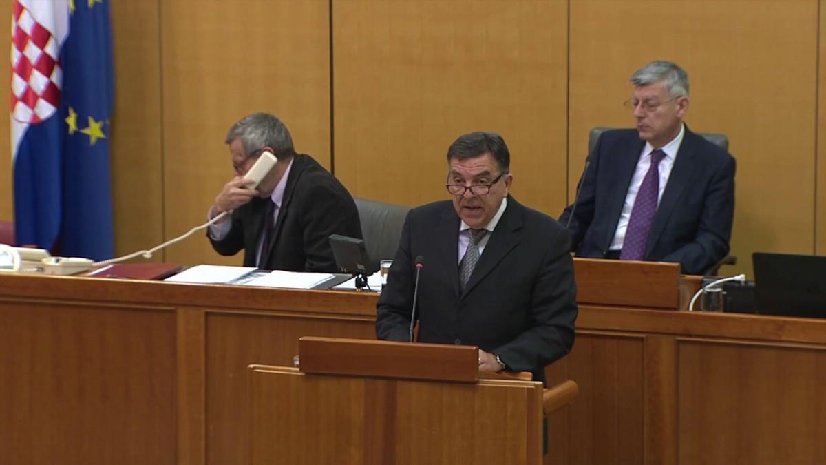 IDS-ov zastupnik Tulio Demetlika na 52. mjestu saborskih govornika s 87 javljanja