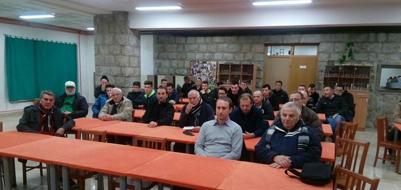 Održana redovna godišnja Skupština NK Rudara - zahtjevna ali i uspješna 2017. godina