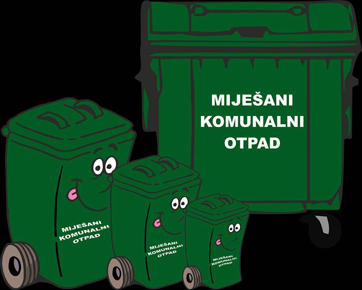 [OBAVIJEST] Zbog Božića odvoz otpada predviđen za ponedjeljak izvršiti će se ove nedjelje