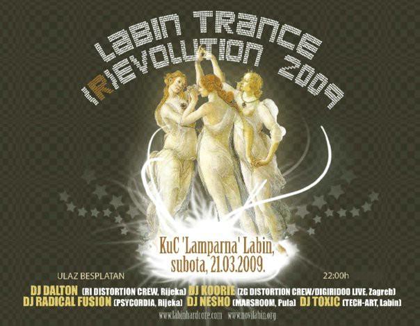 Labin 2009 Trance (R)evolution danas u KUC-u Lamparna