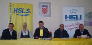 U KRŠANU POTPISAN KOALICIJSKI SPORAZUM HSLS-a i HSU-a (Audio)