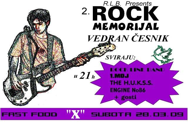 2.Rock memorijal Vedran Česnik