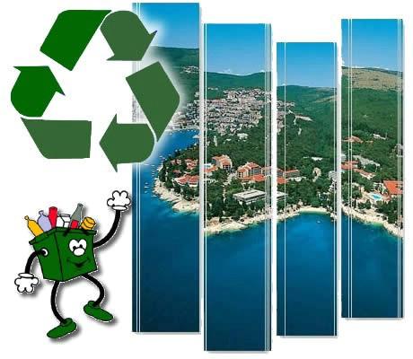 Rabac: Prikupljanje krupnog otpada