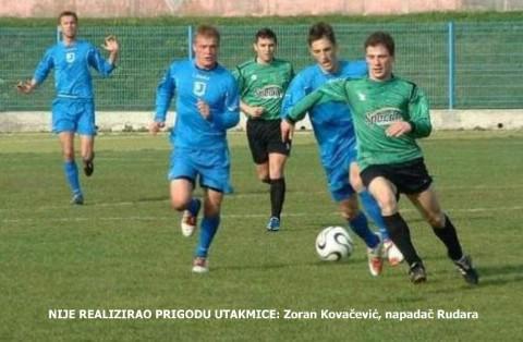 III HNL ZAPAD: NK Rudar - NK Rudeš (Zagreb)  0:1