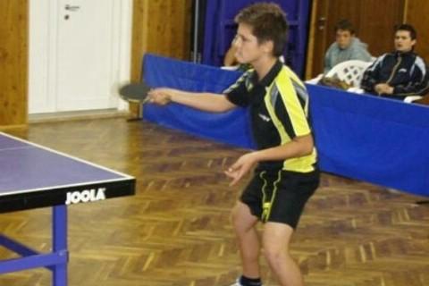 Stolni tenis: Raymond Dobrić izborio plasman za prvenstvo Hrvatske