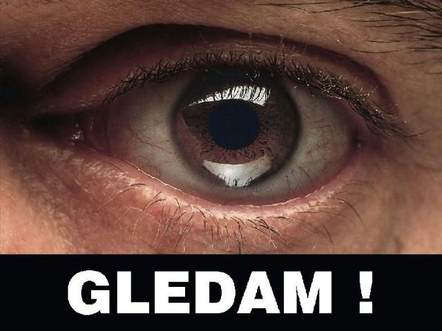 Novi Labin: Subota, 18.04.2009. instalacija Sandro Đukić: site-specific instalacija ''vidim!'' ''gledam''