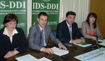 Izbori2009: Eni Modrušan i Zoran Rajković IDS-ovi kandidati za dogradonačelnike (Audio)