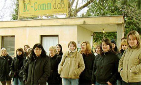 Radnice EC-COMM-a ovrhama do svojih potraživanja