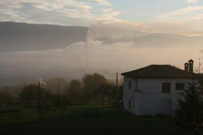 Slučaj Rockwool: U pićanskoj dolini opet dim (prizor iz subote 3.11.2007.)
