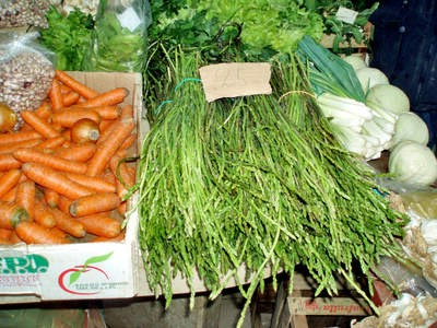 Đir po labinskoj tržnici: Šparuge kao hrana i lijek