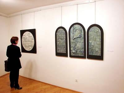 Devet talijanskih umjetnika izlaže u Labinu: Razmjena umjetnosti