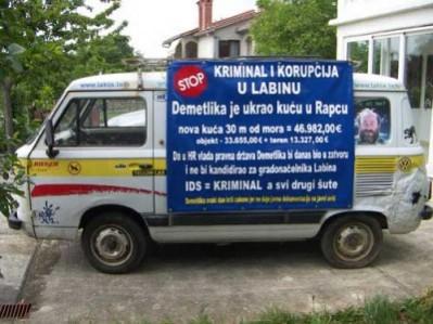 Kiršićeva nova antikorupcijska akcija u Labinu