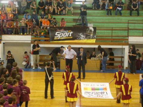 Prva Olimpijada osnovnih škola Labinštine - svečano otvaranje kao na pravoj Olimpijadi