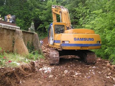 Započeli radovi na proširenju groblja Šumber