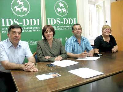 LABINSKI IDS U POSLIJEIZBORNOJ KOALICIJI S BDSH-om - Potpis za deset