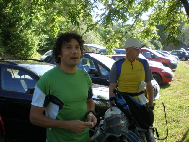 Alen Paliska i Moreno Mohorović na Risnjak Mountain Treku 2009