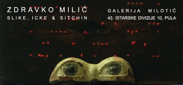 """Zdravko Milić, samostalna izložba """"Slike, Icke & Sitchin"""" u Galeriji Milotić"""
