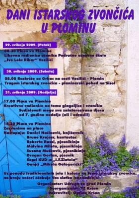 Vikend u Plominu u znaku Istarskog zvončića (Audio)