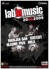 LabINmusic Festival @ Dubrova Labin: Hladno pivo, Marijan Ban, Gustafi, Nola (Audio)