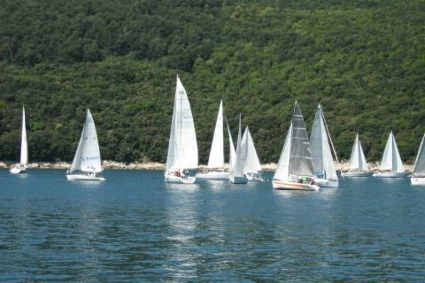 Rabačka regata: Optimist, Laser 4,7, Laser standard i Laser Radial