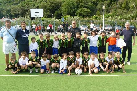 Susret škola nogometa NK Rabac i NK Rudar