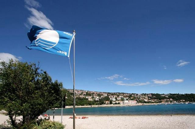 Rabačke plaže po sedmi puta zaslužile Plavu zastavu