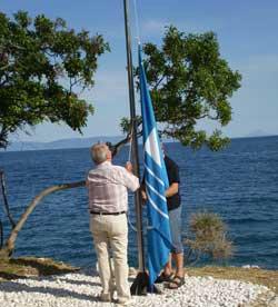 Osmi puta zaredom rabačkim plažama vijore se Plave zastave