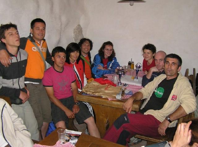 Labinjani nastupili na 7. izdanju planinarskog maratona Velebitski trekking 2009