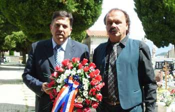 Povodom Dana državnosti položen vijenac na Centralnom križu
