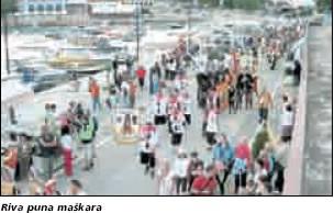 Međunarodni ljetni karneval Rabac 2009: Maškare razveselile turiste