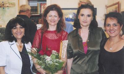 Uspjeh labinske slikarice Narcise Adalgise Škopac na izložbi u Rimu