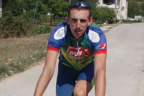 Luka Grubić prvak Hrvatske  u cestovnom biciklizmu na kronometar