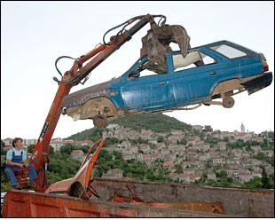 Idući tjedan akcija uklanjanja napuštenih vozila